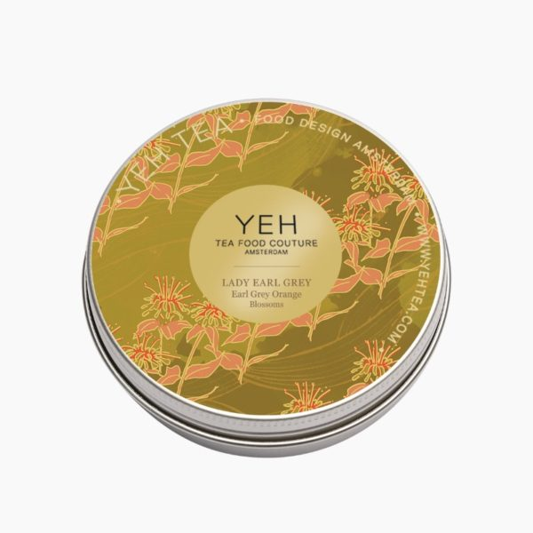 LADY EARL GREY - tin 30g - Earl grey met oranjebloesem bergamot