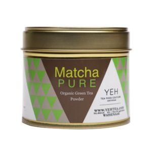 Biologische matcha thee